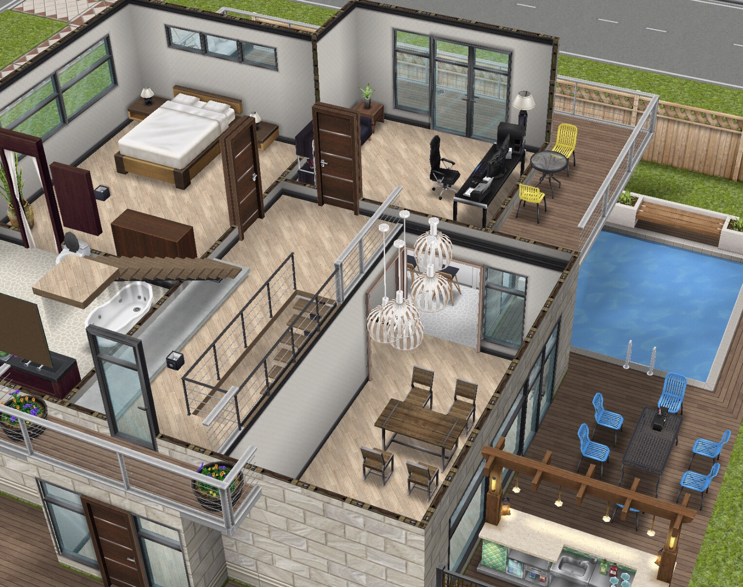 Firstly You Need To Have Rooms In Your House To Be Able To Add A Mezzanine  To, You Need To Have A Room Below The Room Which You Want To Build A ...