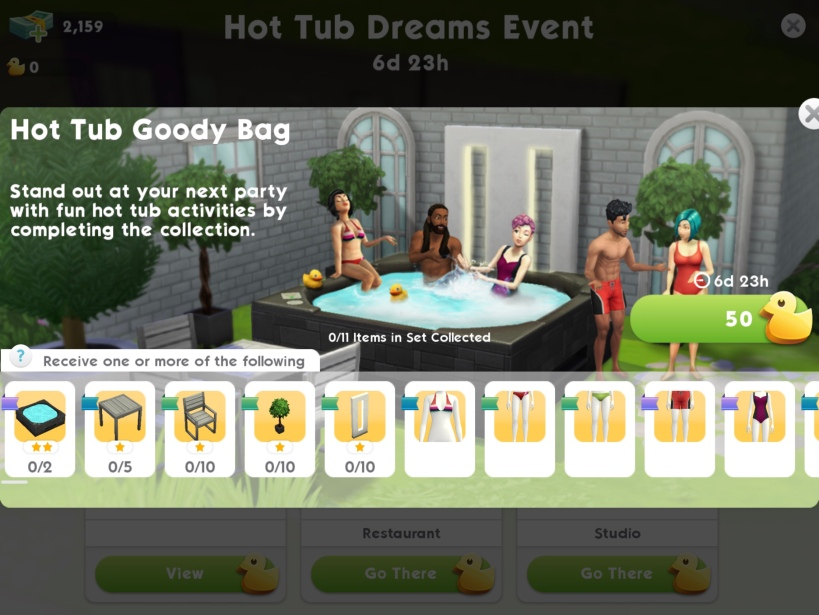 how to cancel an event on sims mobile