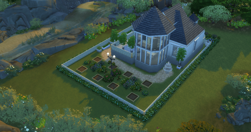 Sims 4 house design cottage