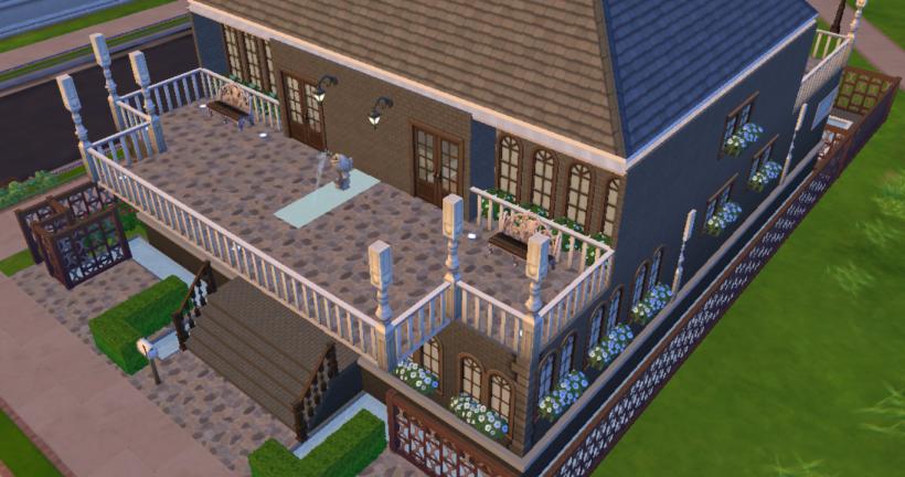Sims 4 house design mansion