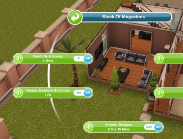 back to the wall sims freeplay