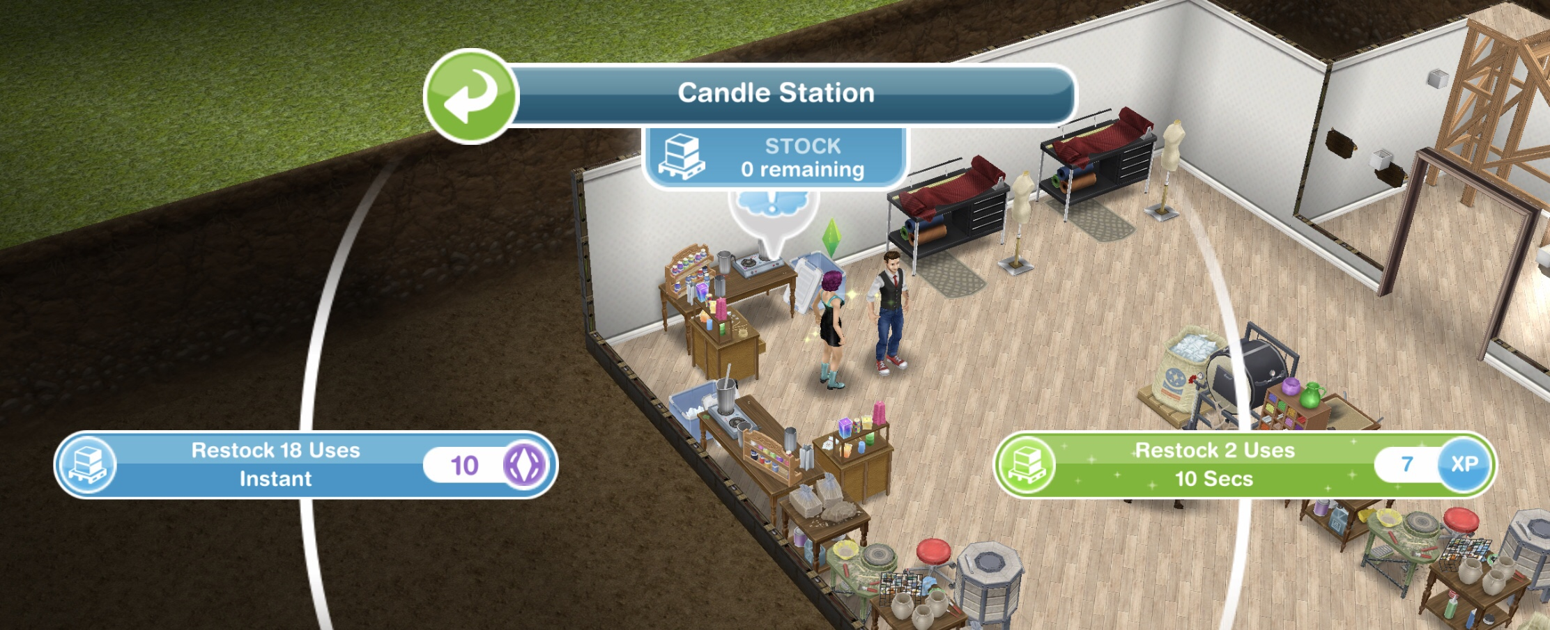 The Sims Freeplay- Simtown Health Spa Live Event – The Girl Who Games