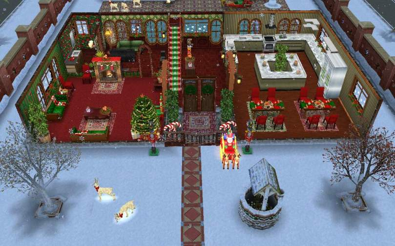 Sims Freeplay Christmas 2020 The Sims Freeplay  Christmas House Design Contest Winner! – The