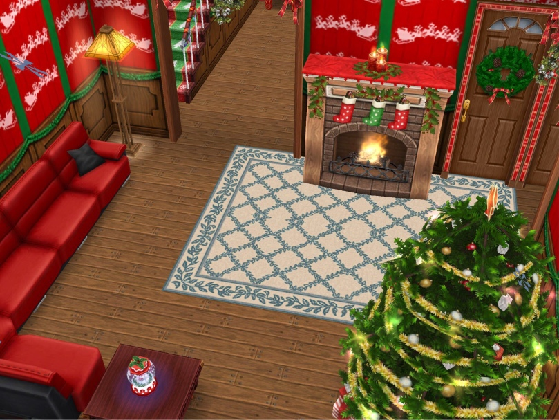 The Sims Freeplay Christmas House Design Contest The Girl Who Games