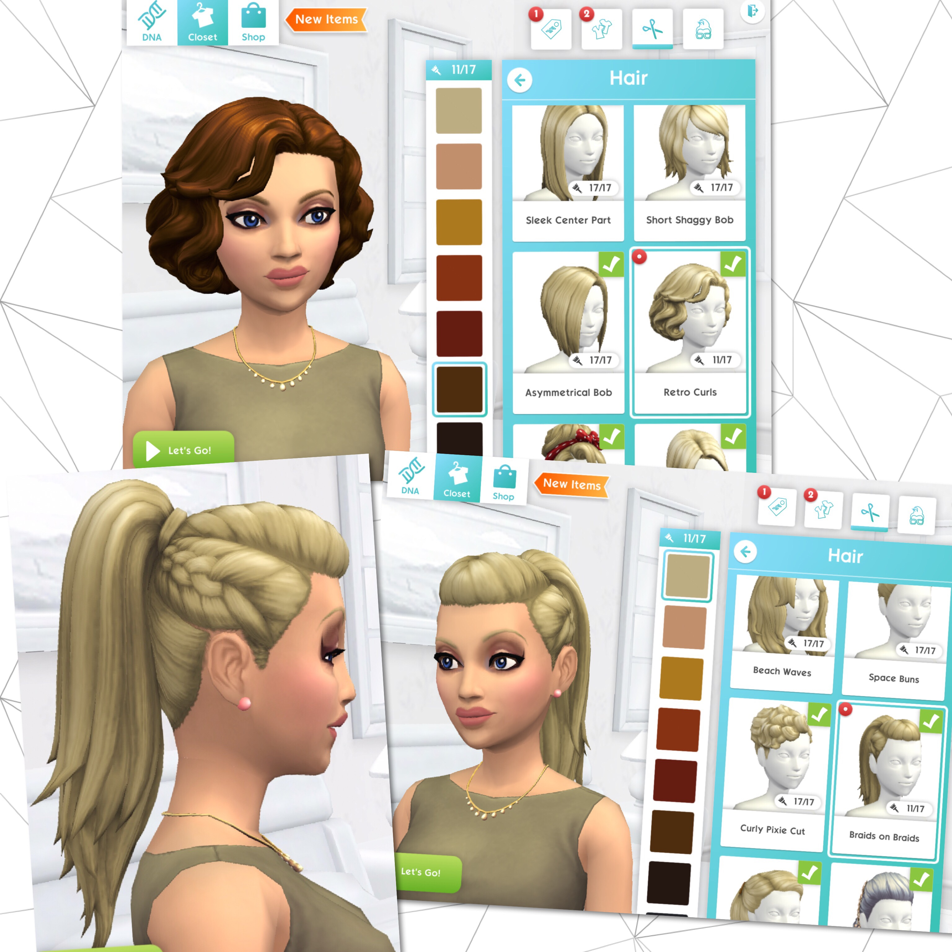 The Sims Mobile- Rooted In Style Quest – The Girl Who Games