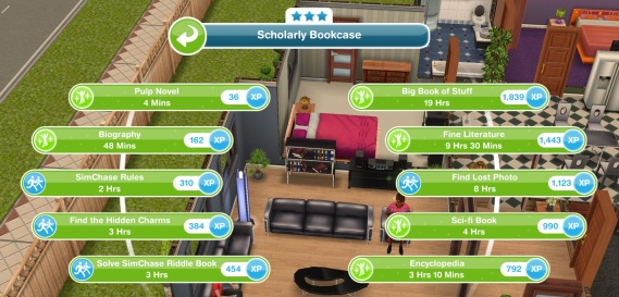 The Sims Freeplay- SimChase – The Girl Who Games
