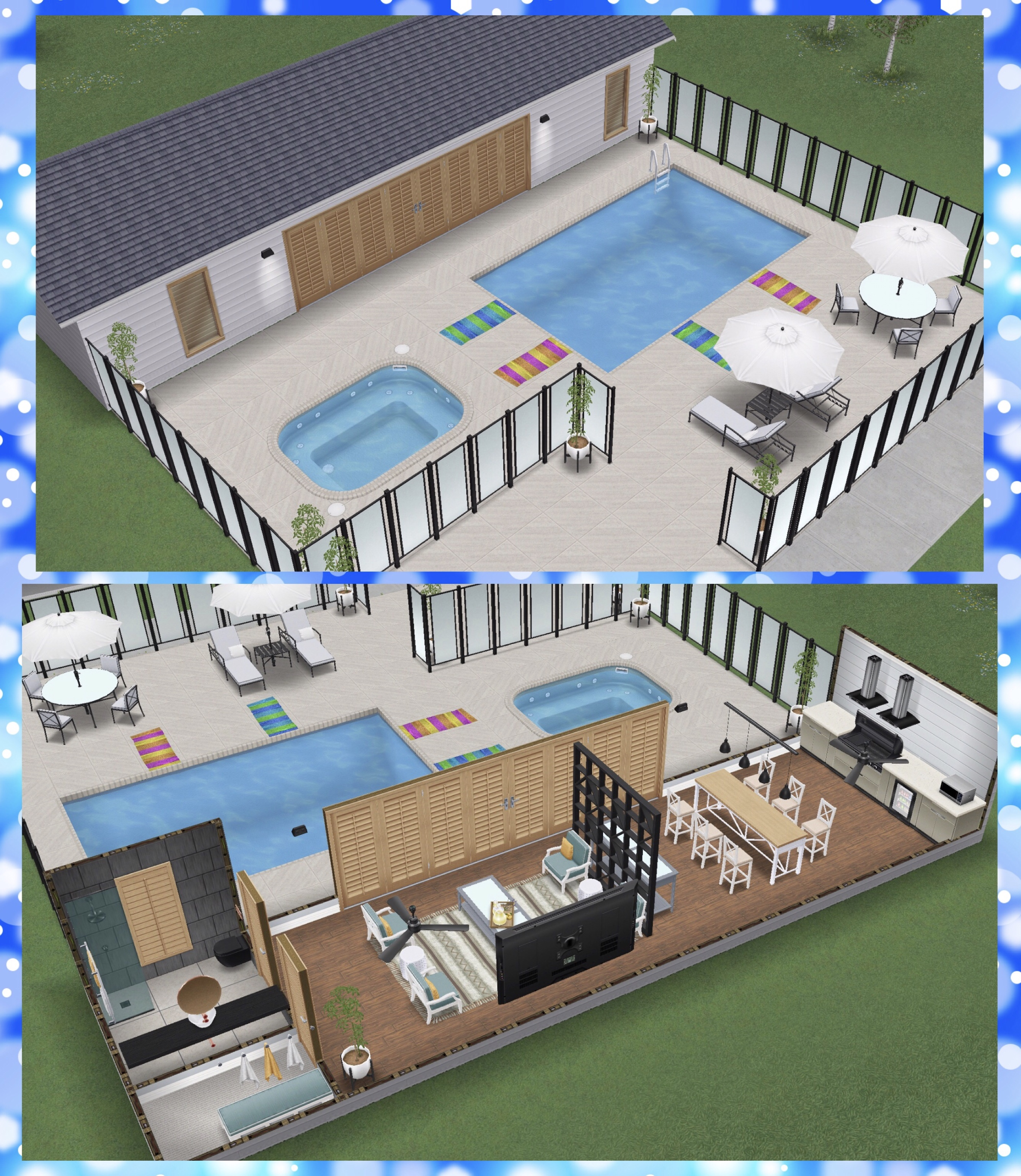 The Sims Freeplay- Poolside Paradise Live Event – The Girl